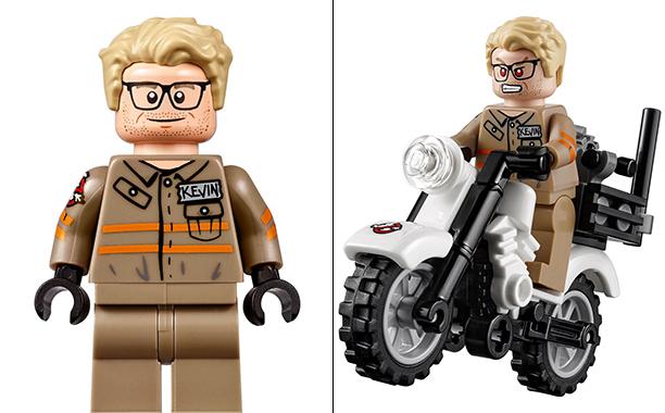 Ghostbusters: il personaggio di Kevin nel set LEGO