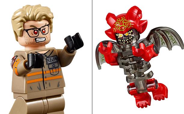 Ghostbusters: alcuni dei personaggi del set LEGO