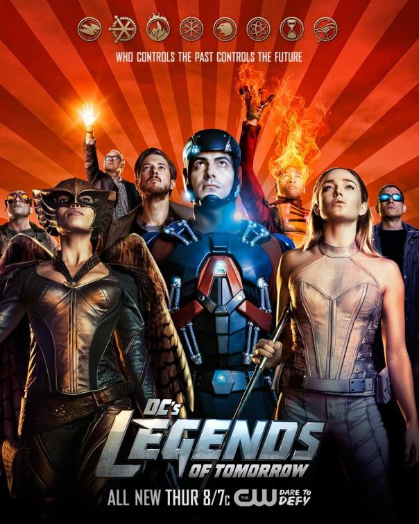 Legends of Tomorrow: un poster della prima stagione della comic-series