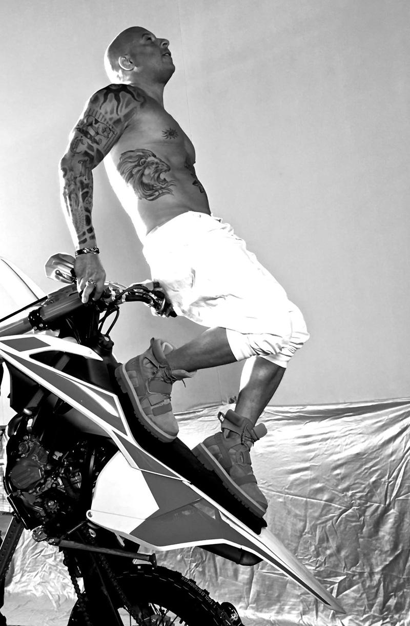 xXx: The Return of Xander Cage: Vin Diesel impegnato in una scena