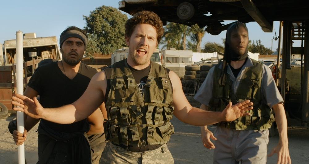 Oliver, Stoned: Seth Cassell in una scena del film