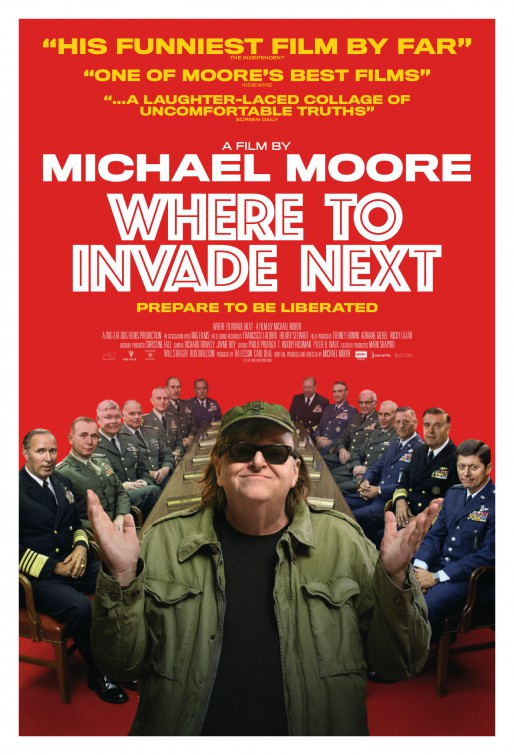Where to Invade Next: la nuova locandina del documentario
