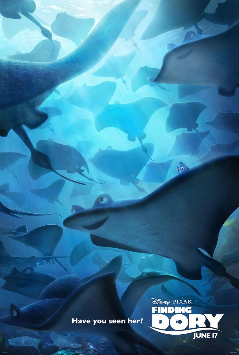 Finding Dory: un nuovo poster del film animato