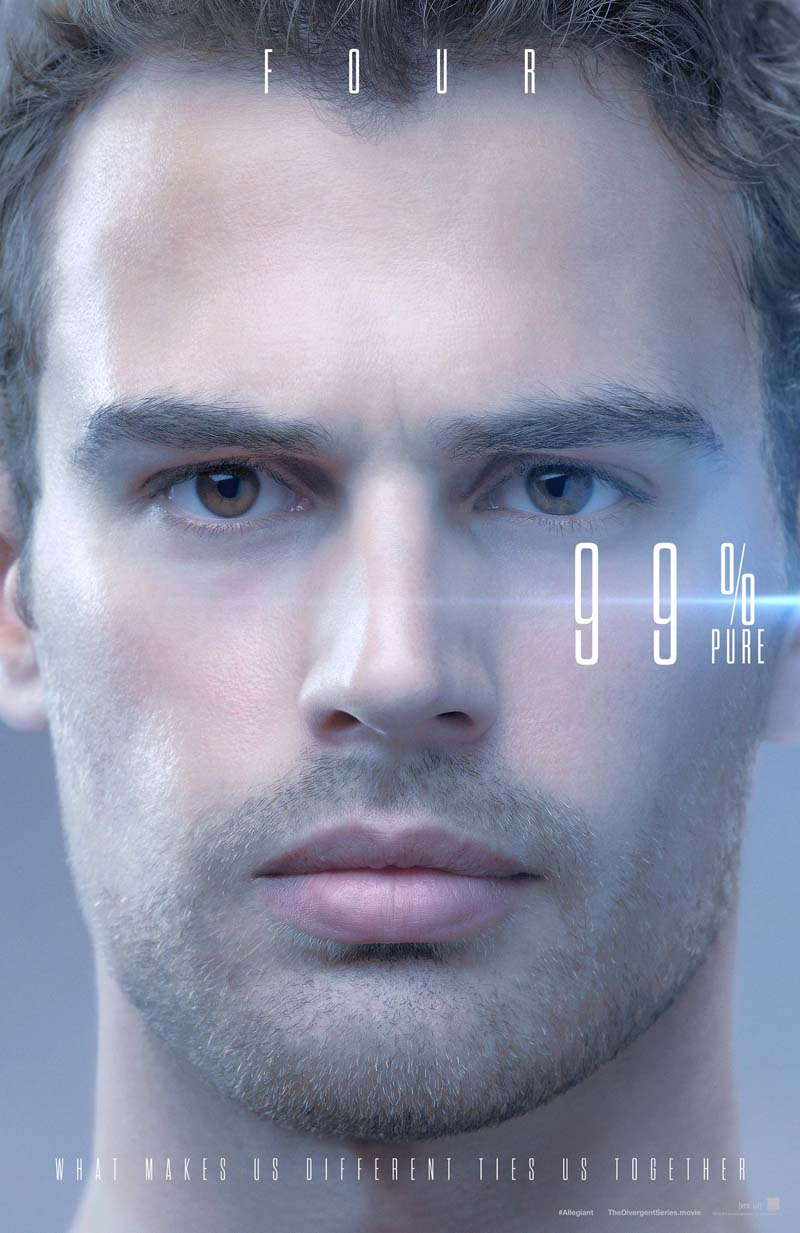 The Divergent Series: Allegiant - Il character poster di Four