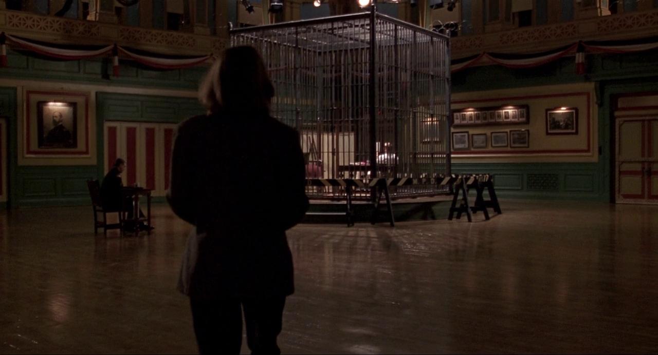 Jodie Foster è Clarice Starling in una scena de IL SILENZIO DEGLI INNOCENTI