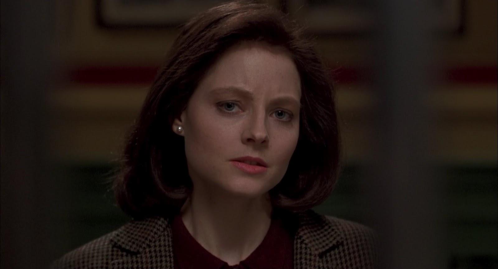 L'attrice Jodie Foster in una scena de IL SILENZIO DEGLI INNOCENTI