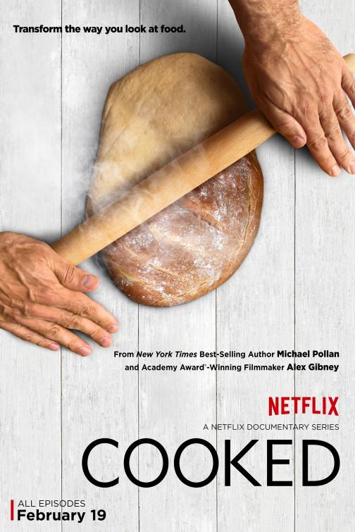 Cooked: un poster per la serie