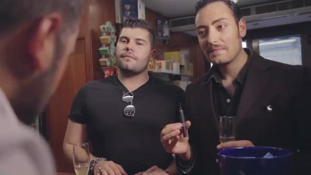 Salvatore Esposito con Ciro Priello nel video dei The Jackal su Gomorra