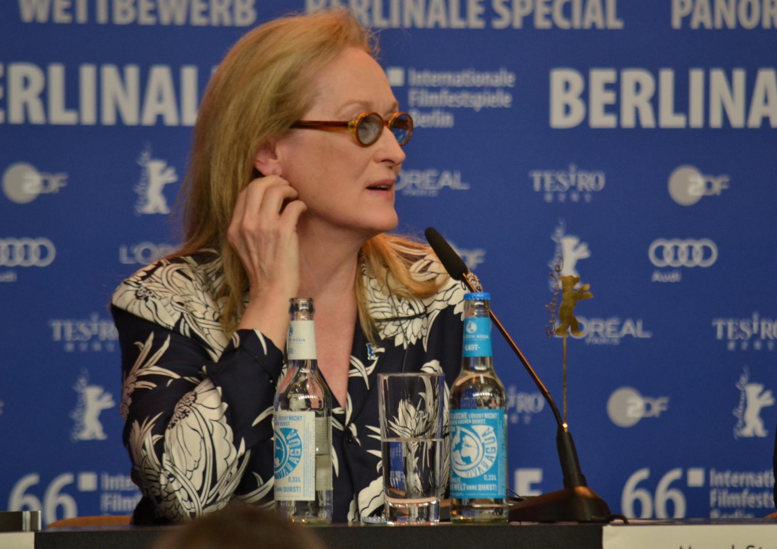 Berlino 2016: Meryl Streep, presidente della giuria, in conferenza stampa
