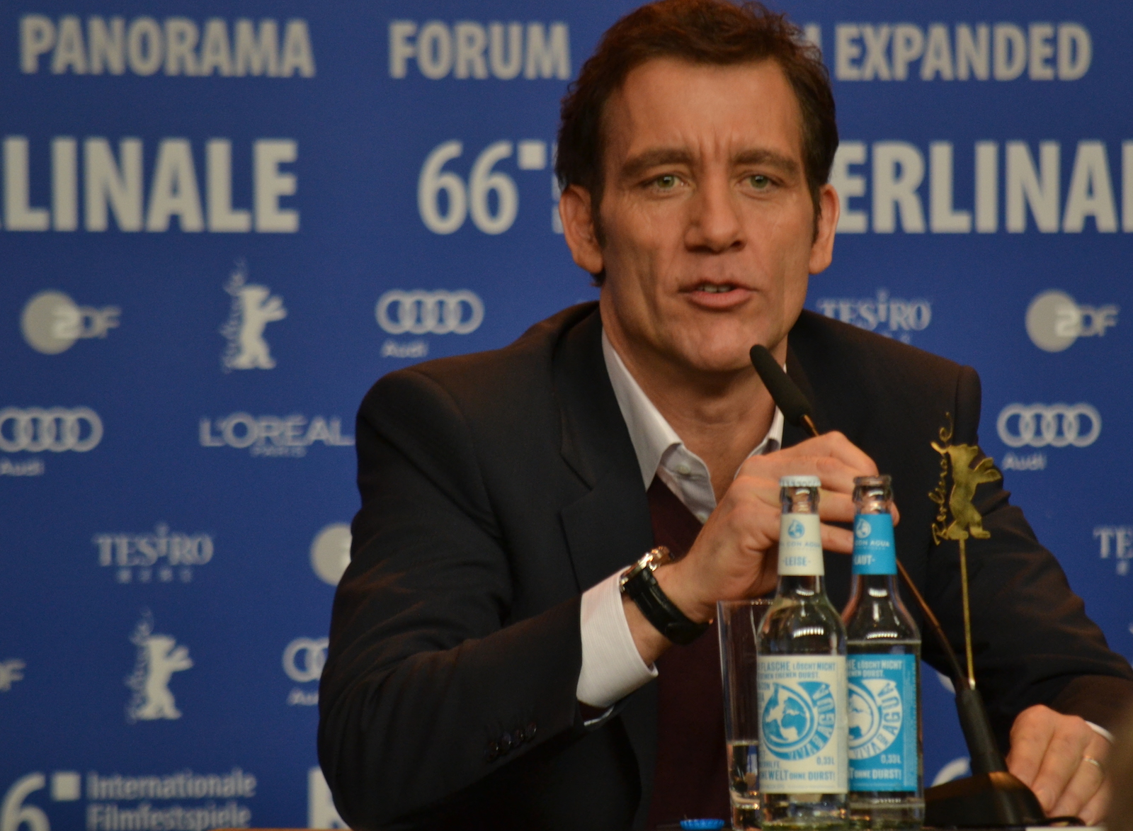 Berlino 2016: Clive Owen in conferenza stampa