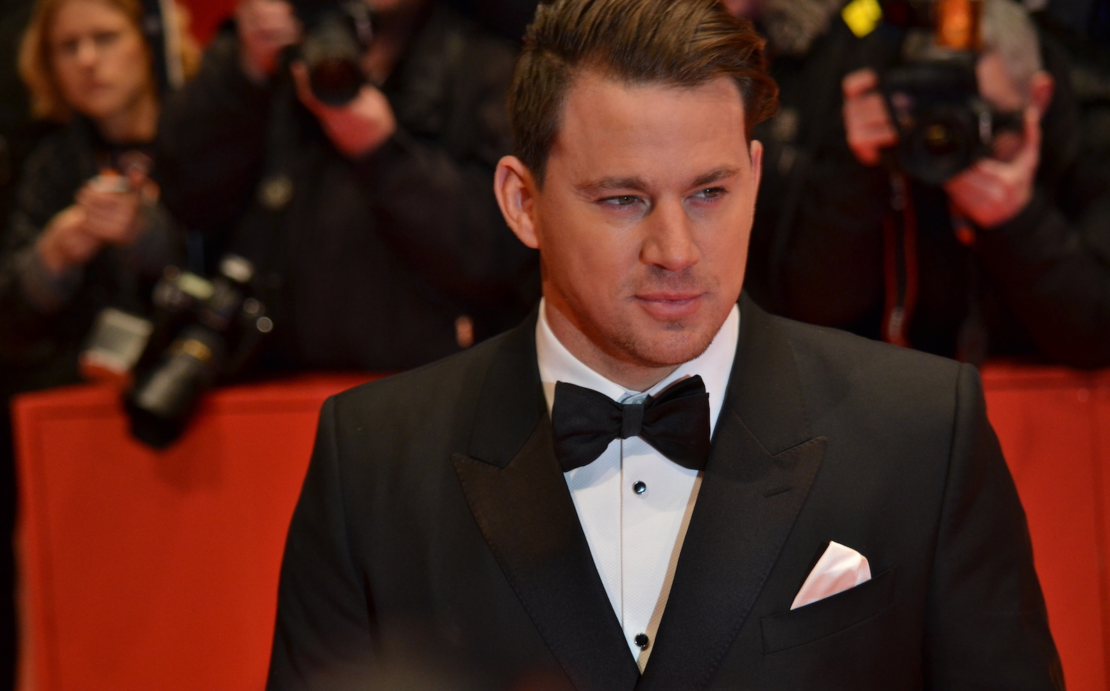 Berlino 2016: Channing Tatum sul red carpet di Ave, Cesare!
