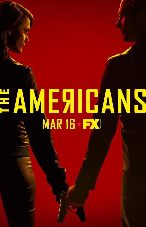 The Americans: una locandina per la quarta stagione