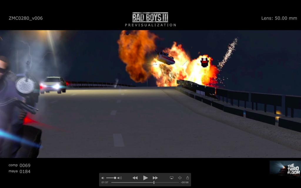 Bad Boys 3: un'immagine della pre-produzione del film