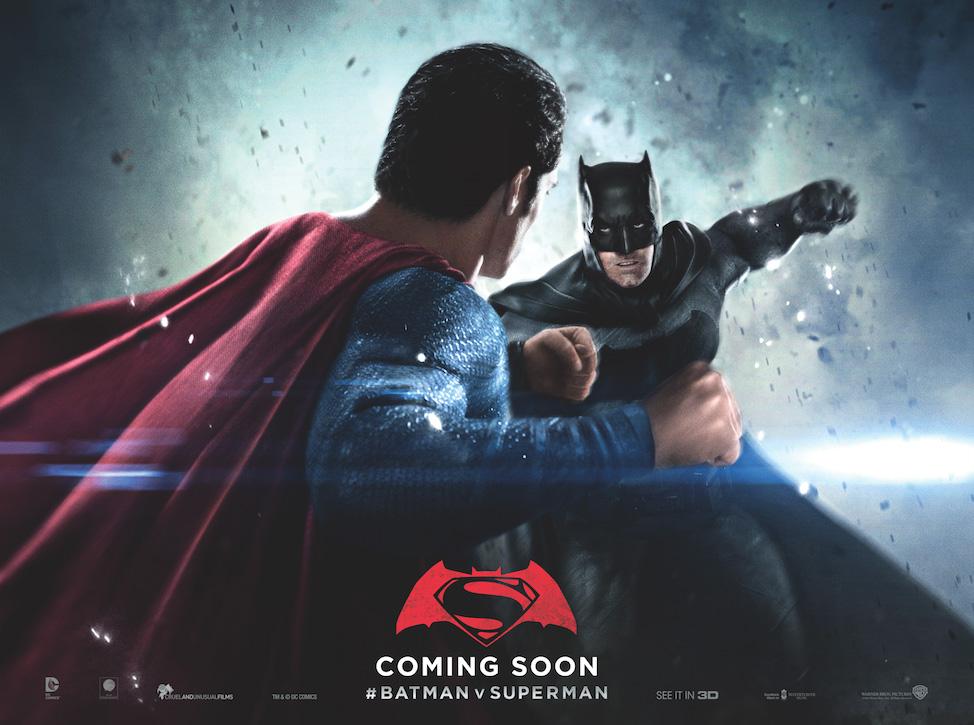 Batman v Superman: uno dei nuovi poster dedicati allo scontro tra i due eroi