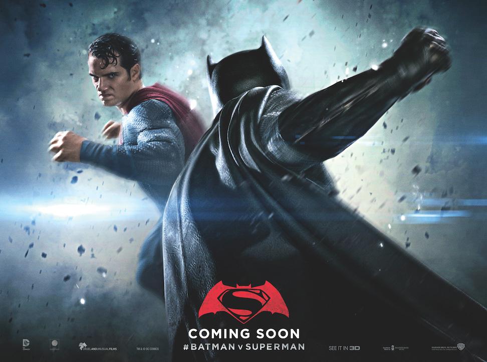 Batman v Superman: un nuovo poster dedicato allo scontro tra i due eroi