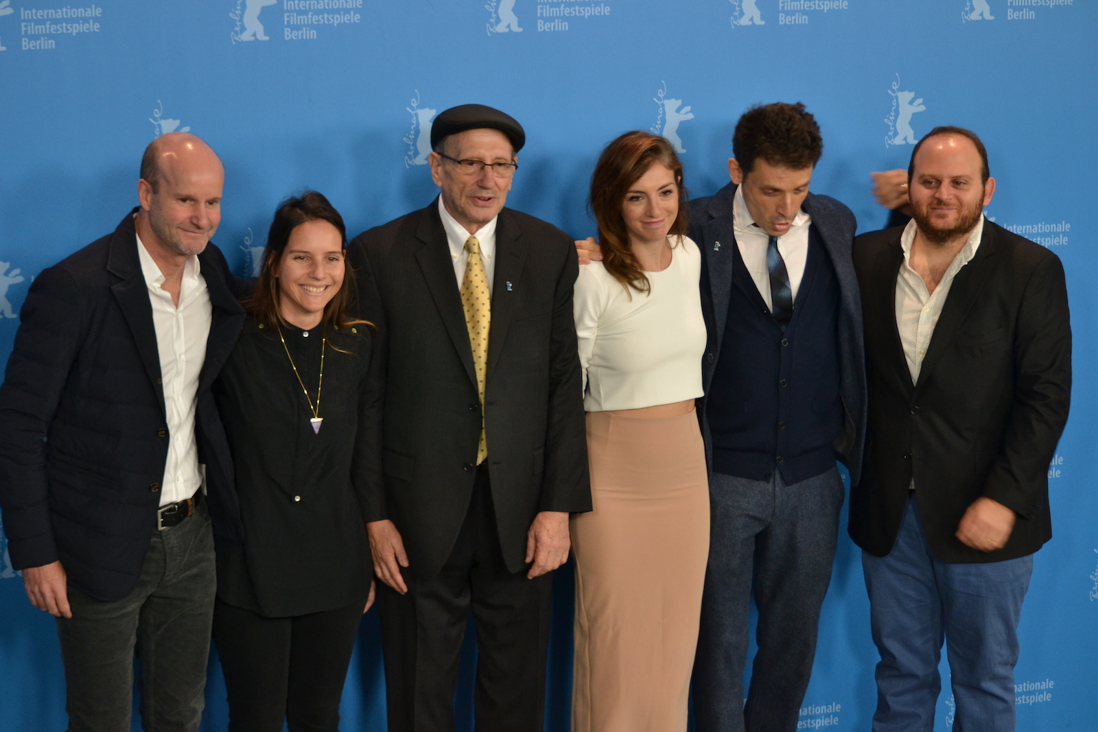 Berlino 2016: Daniel Burman, Alan Sabagh e Julieta Zylberberg al photocall di The Tenth Man