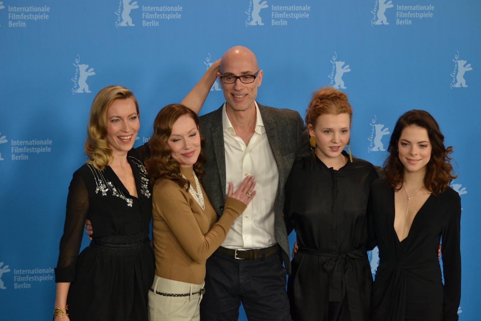 Berlino 2016: James Hyndman, Laetitia Isambert, Simone-Elise Girard, Isolda Dychauk al photocall di Boris without Béatrice
