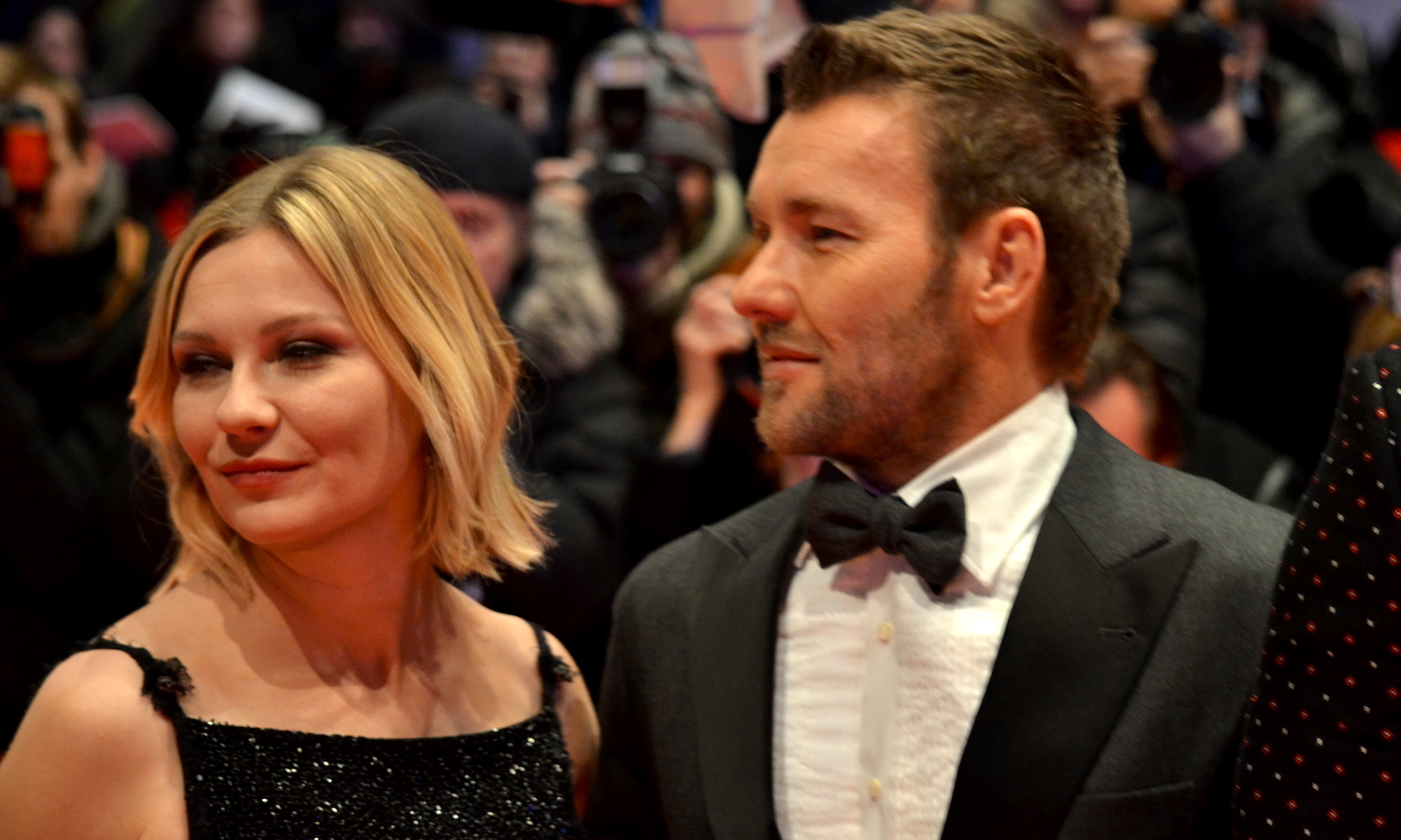 Berlino 2016: Joel Edgerton e Kirsten Dunst sul red carpet di Midnight Special