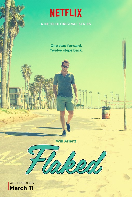 Flaked: il poster della serie