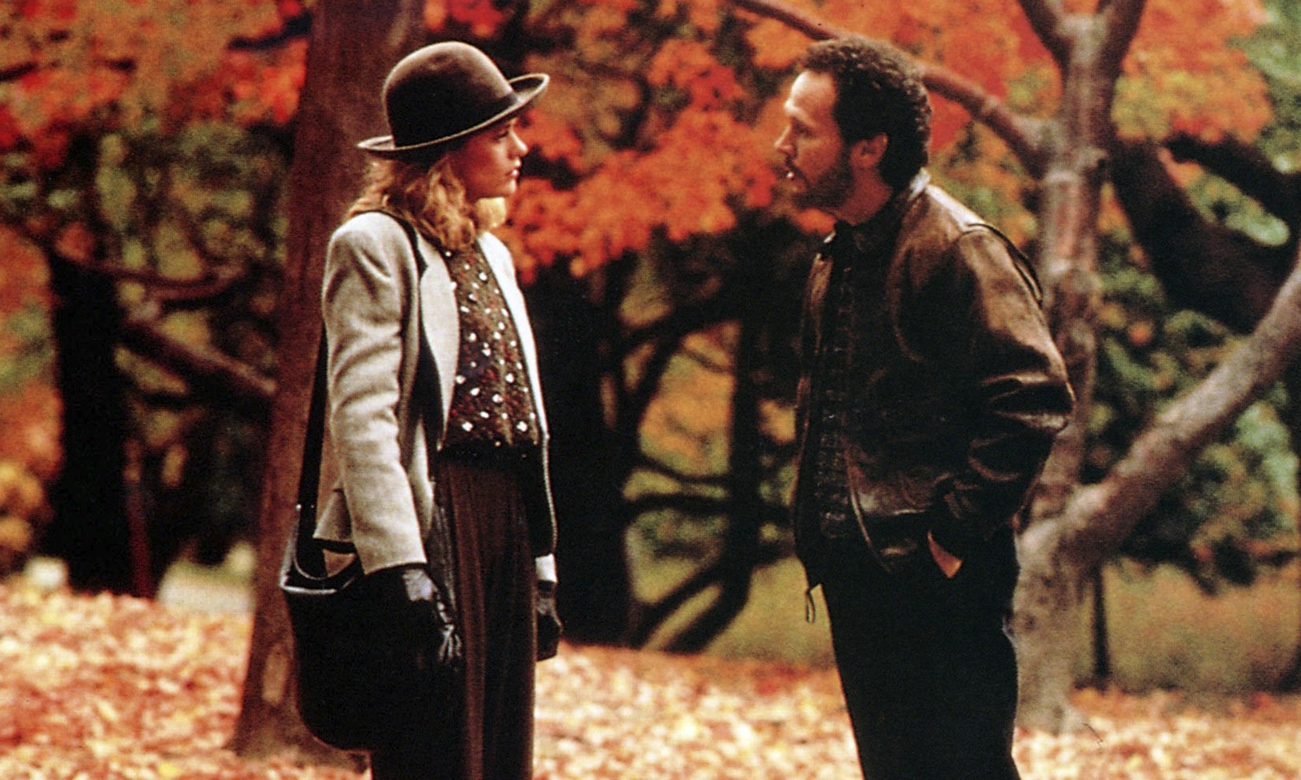 Billy Crystal e Meg Ryan in una scena di Harry ti presento Sally