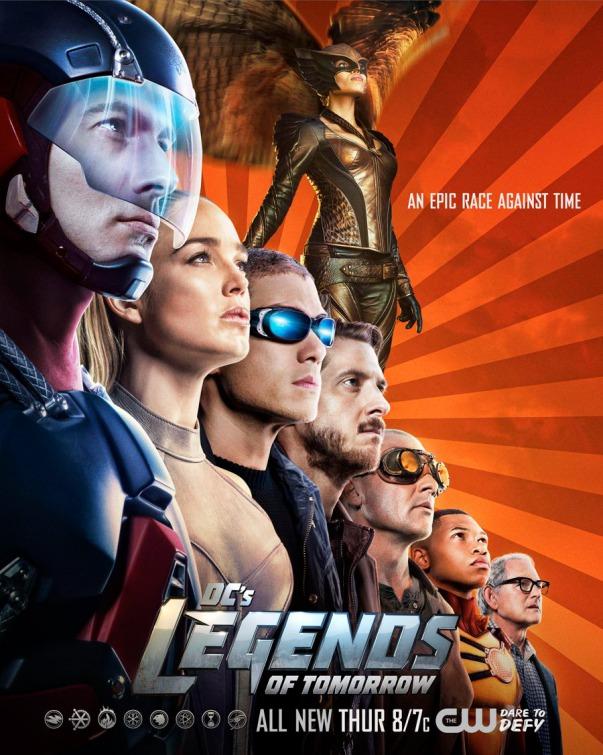 Legends of Tomorrow: una locandina per la prima stagione della serie