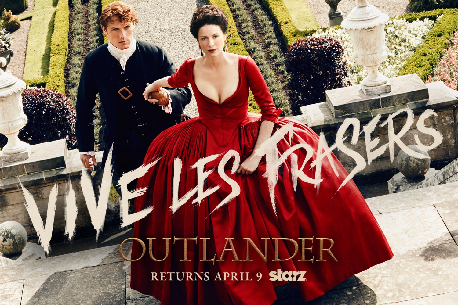 Outlander: un wallpaper per la seconda stagione