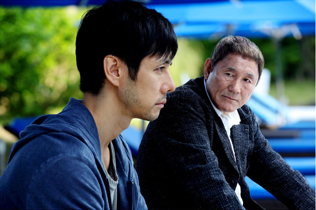 While the Women are Sleeping: Takeshi Kitano e Hidetoshi Nishijima nel film di Wayne Wang