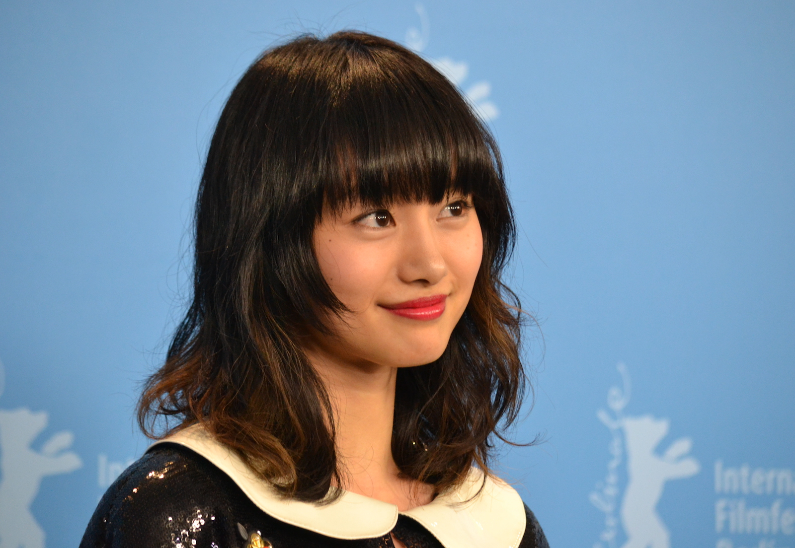 Berlino 2016: Shioli Kutsuna al photocall di While the Women Are Sleeping
