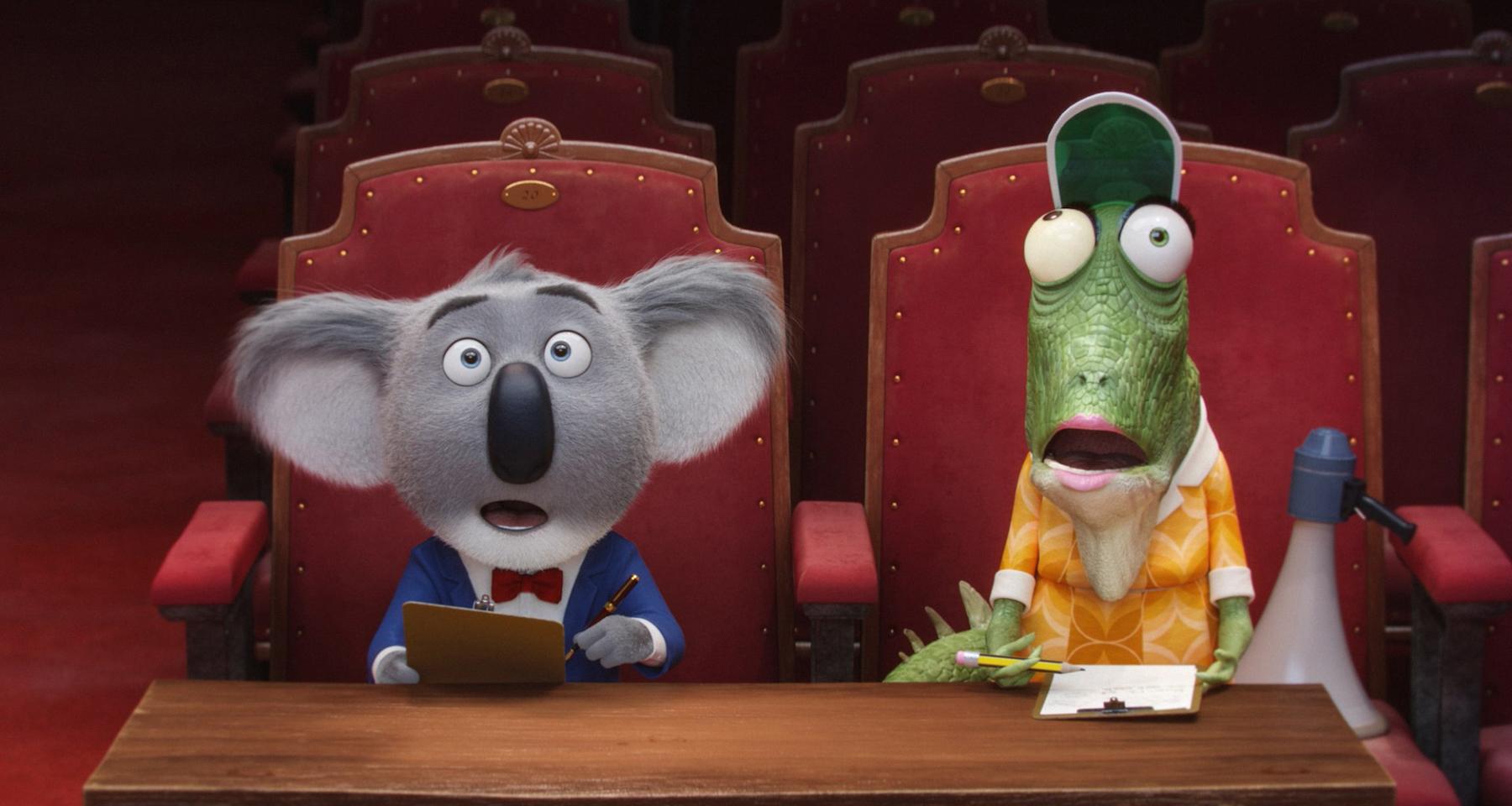 Sing: il koala Buster durante le audizioni