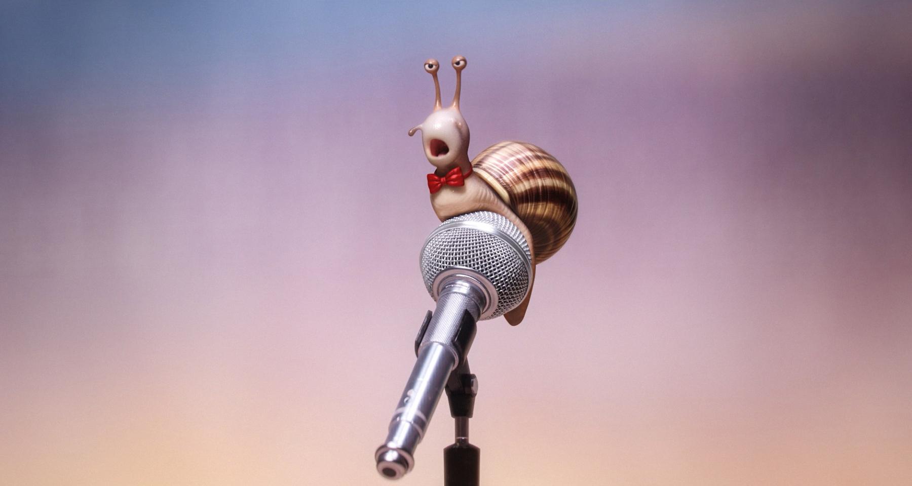 Sing: una simpatica lumaca impegnata nel provino
