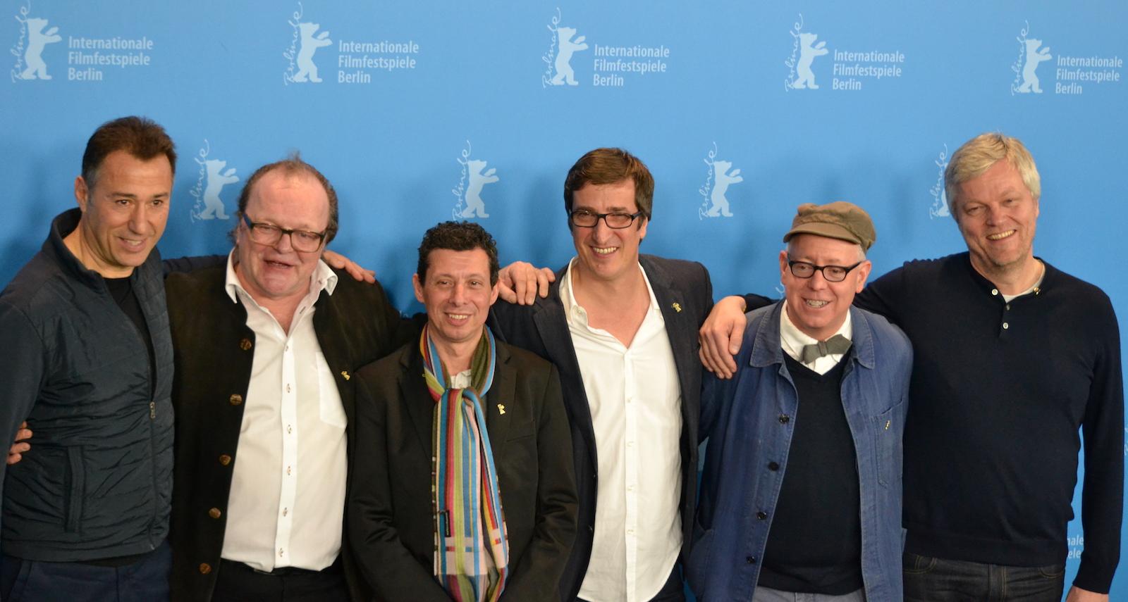 Berlino 2016: i produttori di Alone in Berlin al photocall