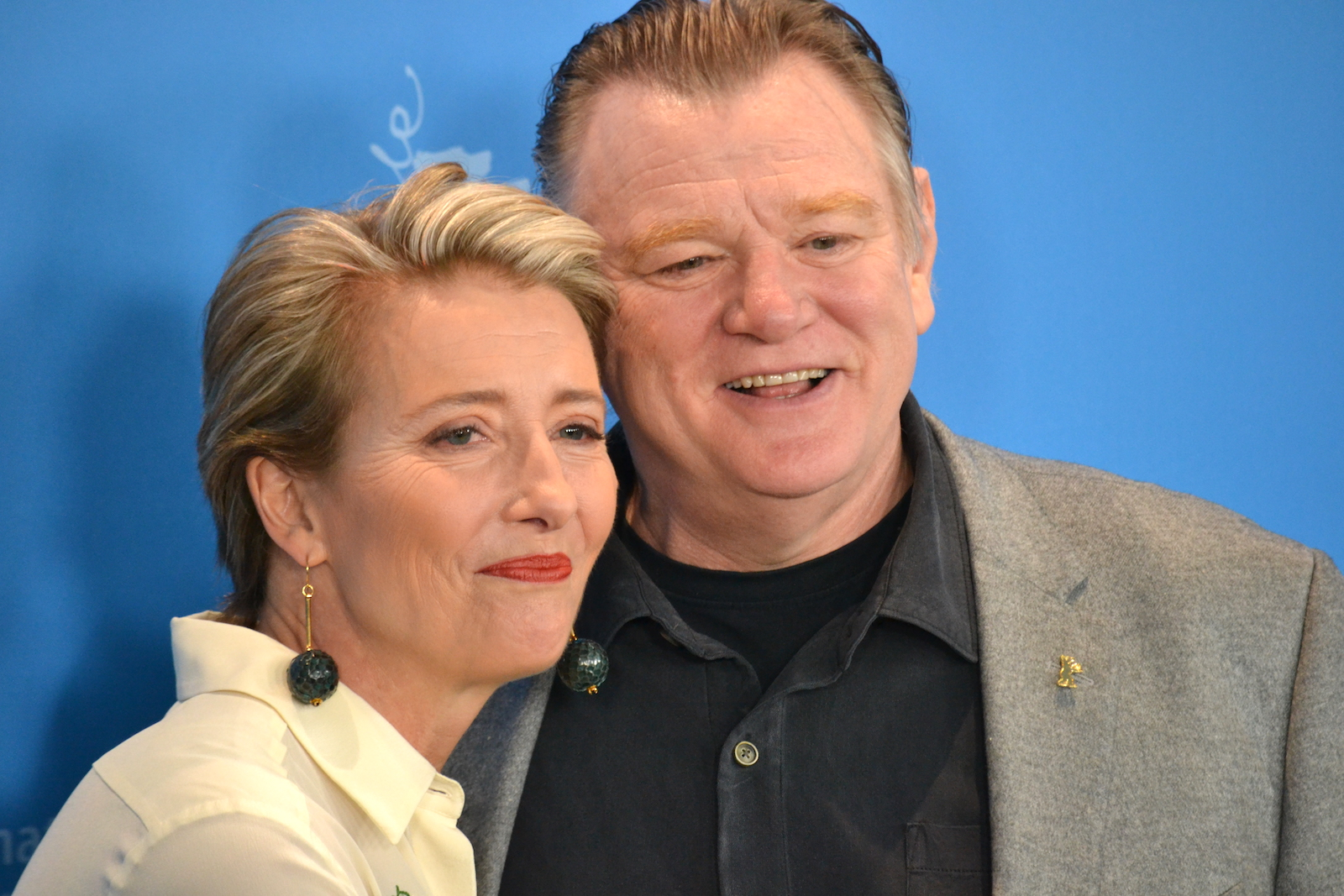Berlino 2016: Emma Thompson e Brendan Gleeson al photocall di Alone in Berlin