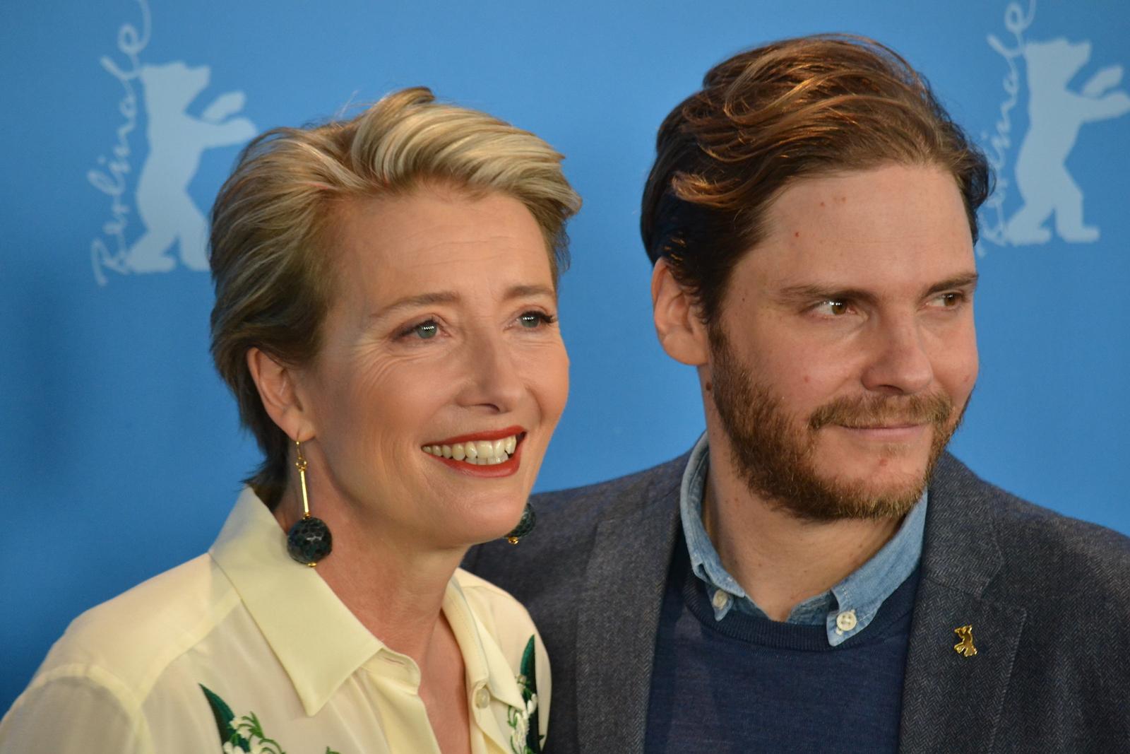Berlino 2016: Emma Thompson e Daniel Brühl al photocall di Alone in Berlin