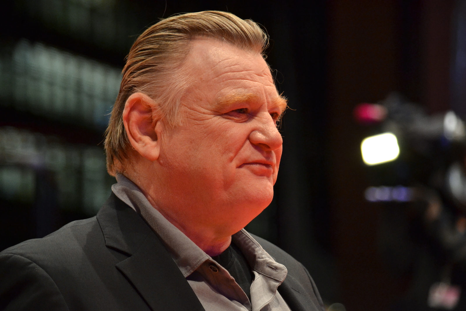 Berlino 2016: Brendan Gleeson posa sul red carpet di Alone in Berlin