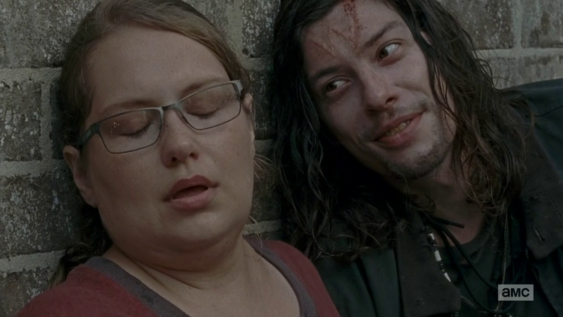 the Walking Dead: Merritt Wever e Benedict Samuel in No Way Out