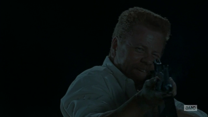 The Walking Dead: Michael Cudlitz in una foto di No Way Out