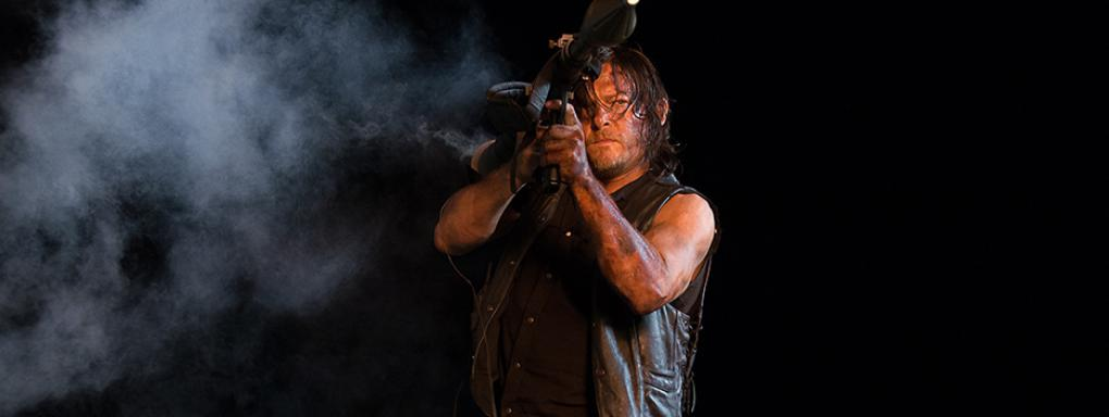 the Walking Dead: l'attore Norman Reedus nella puntata No Way Out