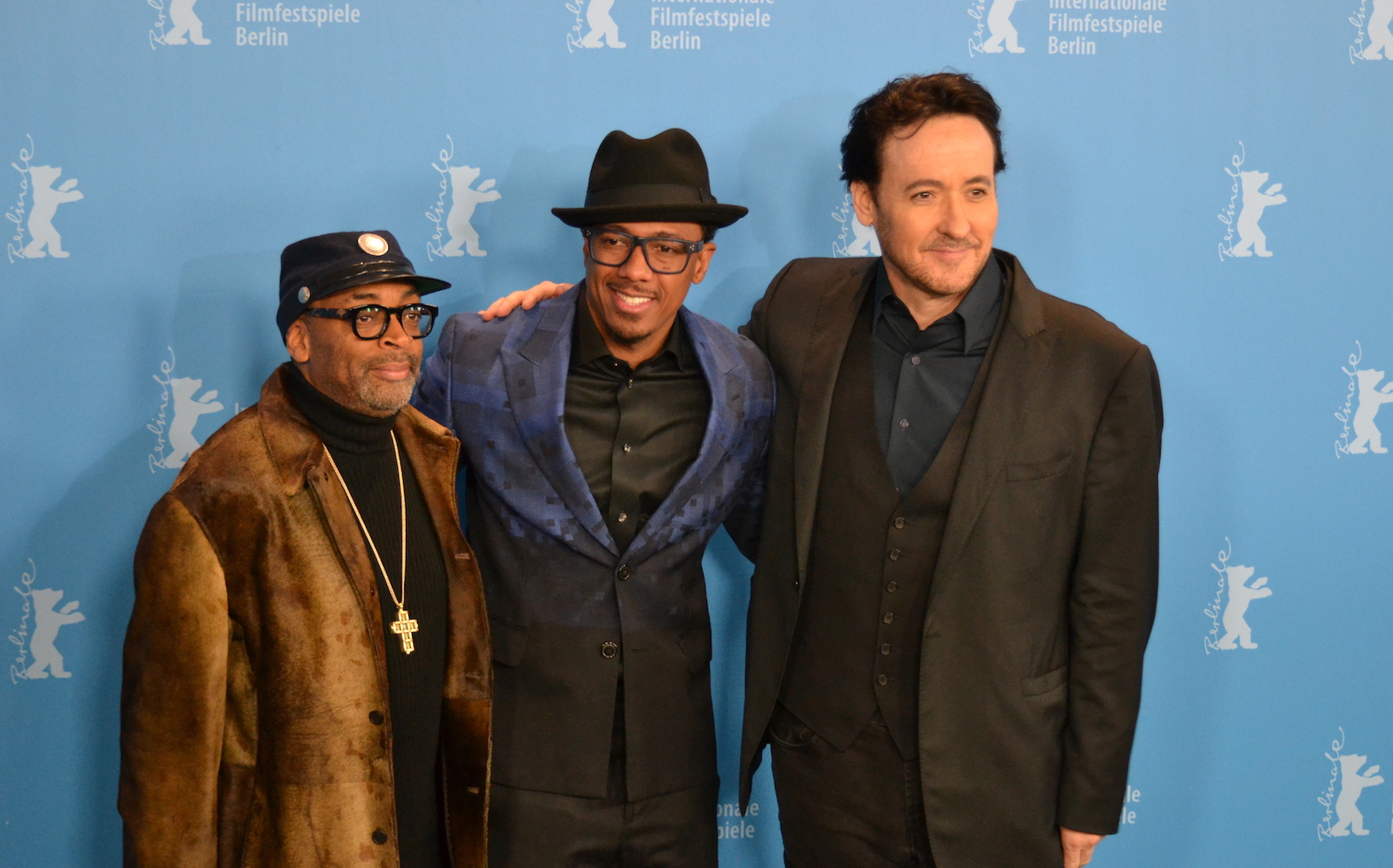 Berlino 2016: Spike Lee, John Cusack, Nick Cannon durante il photocall di Chi-Raq