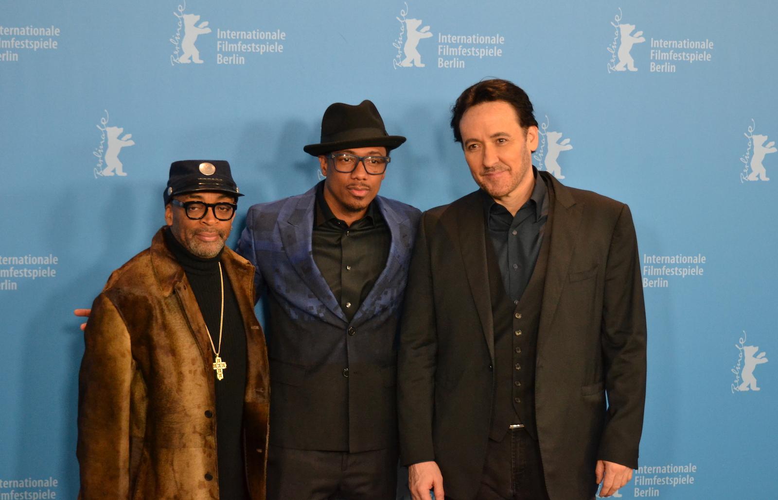 Berlino 2016:Spike Lee, John Cusack, Nick Cannon posano al photocall di Chi-Raq