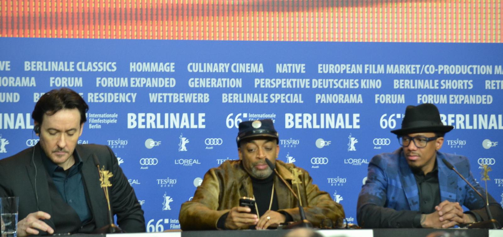 Berlino 2016: Spike Lee, John Cusack, Nick Cannon alla conferenza di Chi-Raq