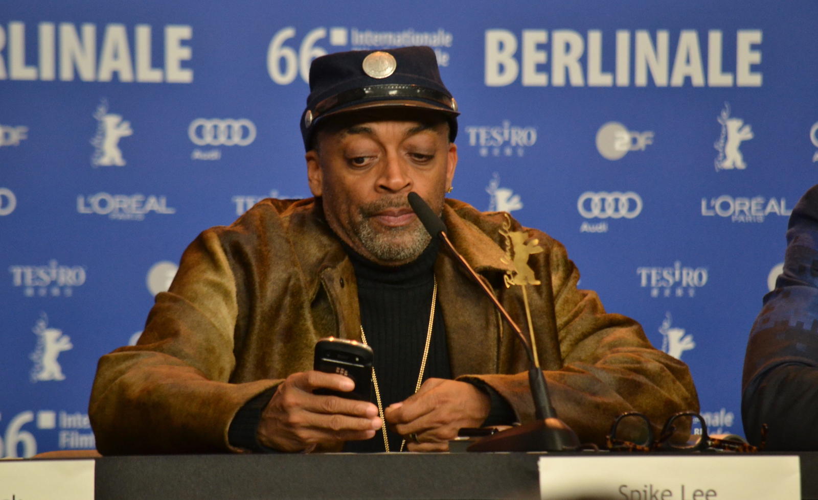 Berlino 2016: Spike Lee alla conferenza di Chi-Raq