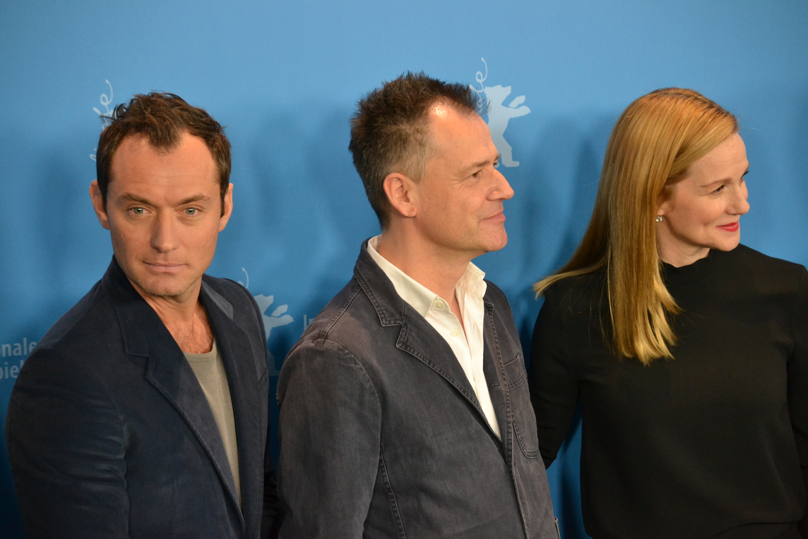 Berlino 2016:  Jude Law, Michael Grandage e Laura Linney al photocall di Genius