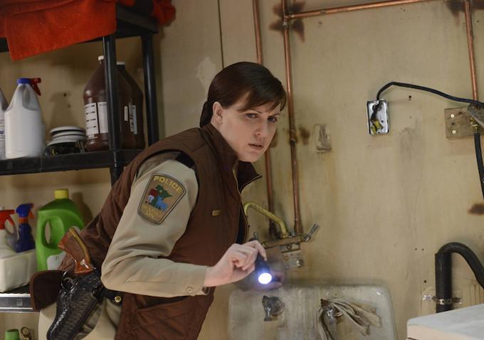 Fargo: l'attrice Allison Tolman nella puntata Palindrome