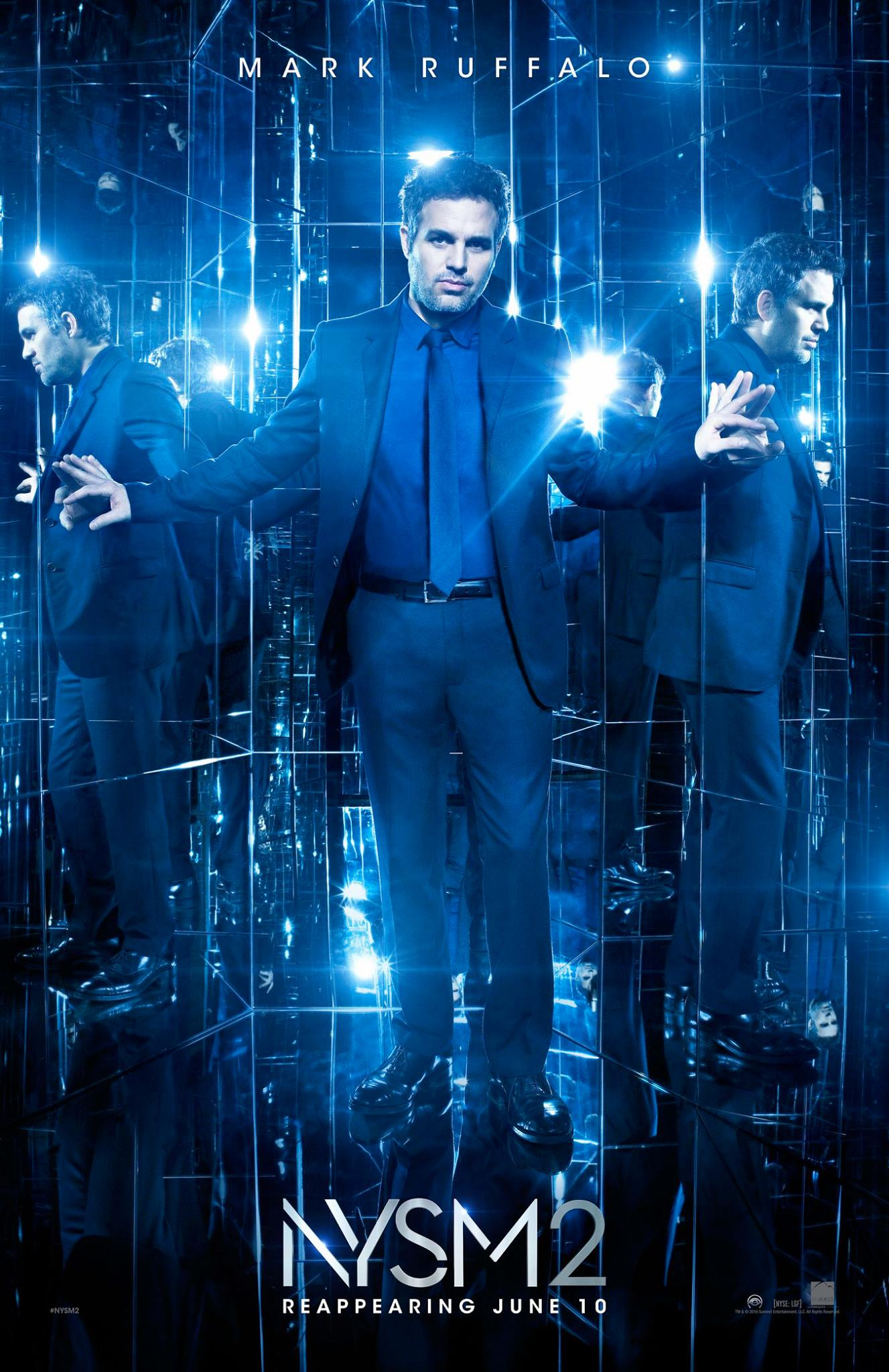 Now You See Me 2: il character poster di Mark Ruffalo