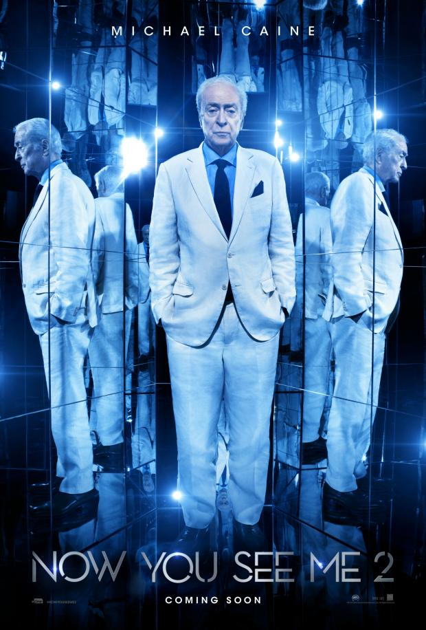 Now You See Me 2: il character poster di Michael Caine
