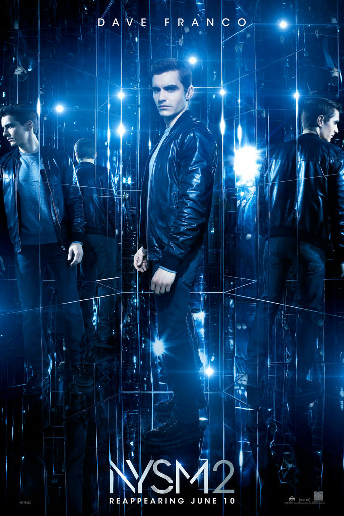 Now You See Me 2: il character poster di Dave Franco