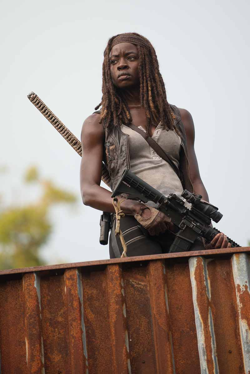 The Walking Dead: Danai Gurira è Michonne in The Next World