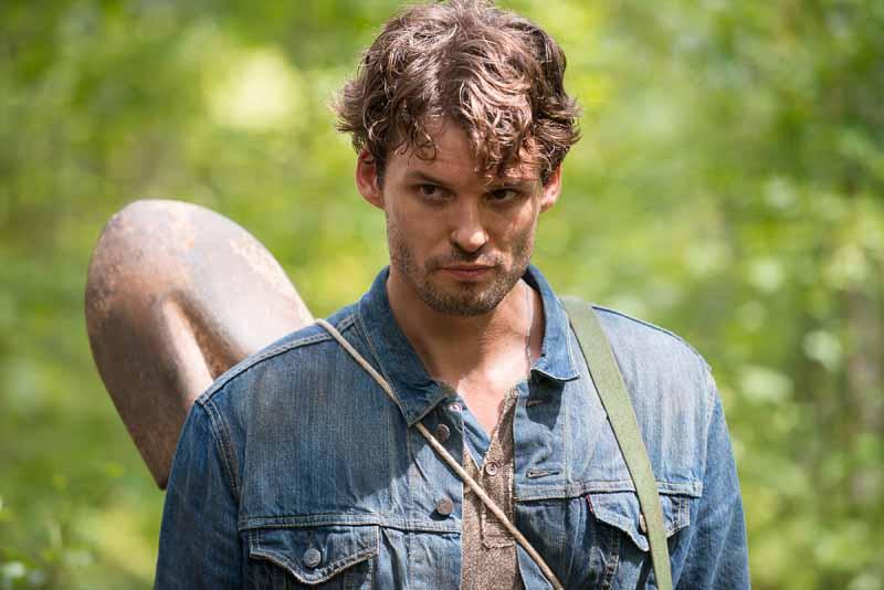 The Walking Dead: l'attore Austin Nichols interpreta Spencer nella puntata The Next World