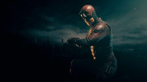 Daredevil: una foto promozionale di Matt Murdock