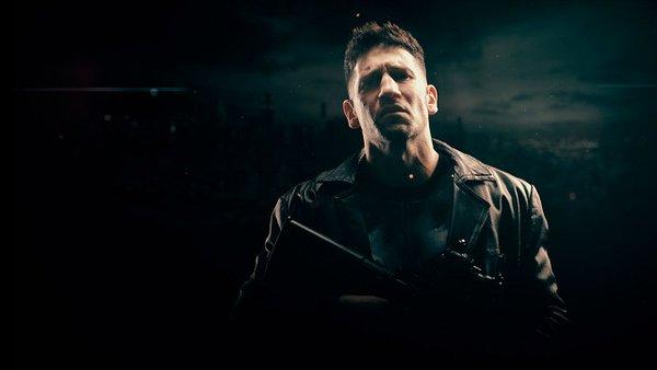 Daredevil: una foto promozionale di Punisher